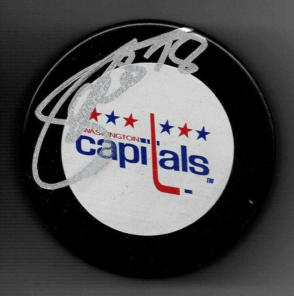 Marco Sturm Autographed Hockey Puck - Autographed NHL Pucks