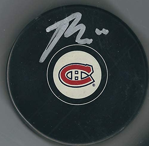 Autographed Brendan Gallagher Montreal Canadiens Hockey Puck