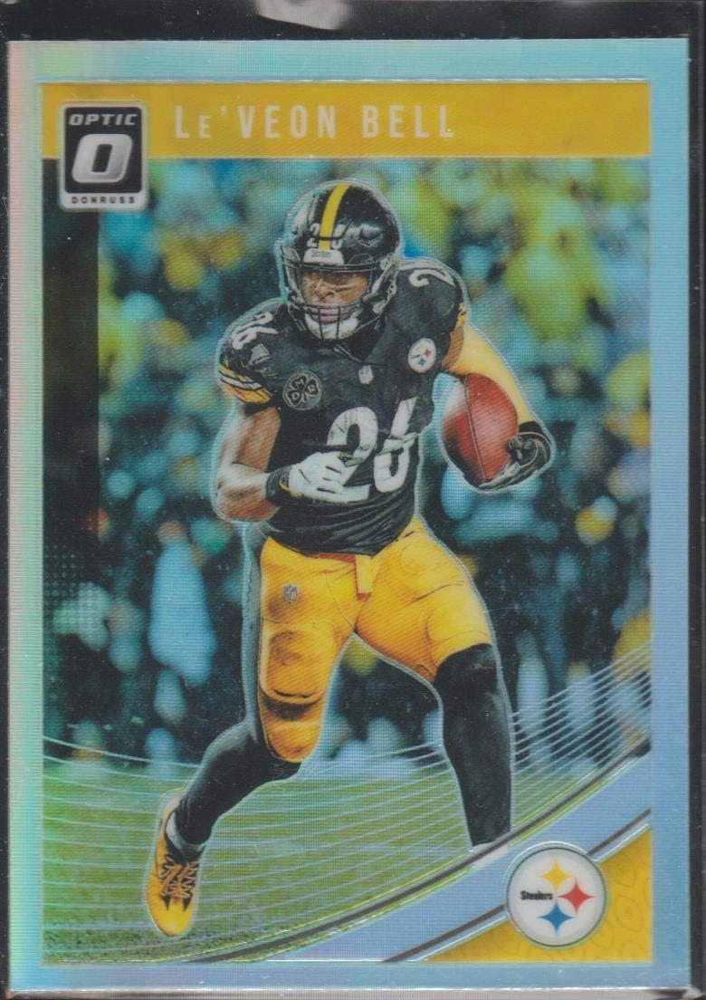 2018 Optic O LeVeon Bell Steelers PRIZM Football Card #84