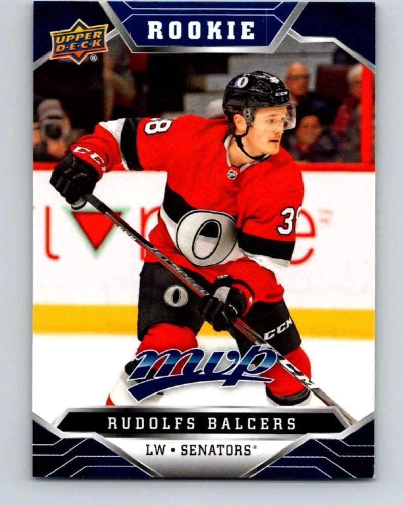 2019-20 Upper Deck MVP Blue #241 Rudolfs Balcers mint Hockey NHL Senators