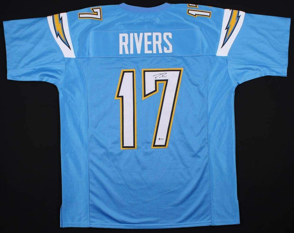 Signed Philip Rivers Jersey - PRO STYLE BECKETT COA #M93282 - Beckett Authentication - Autographed NFL Jerseys