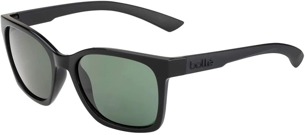 Bolle 12495 ADA Shiny Black Sunglasses, Grey