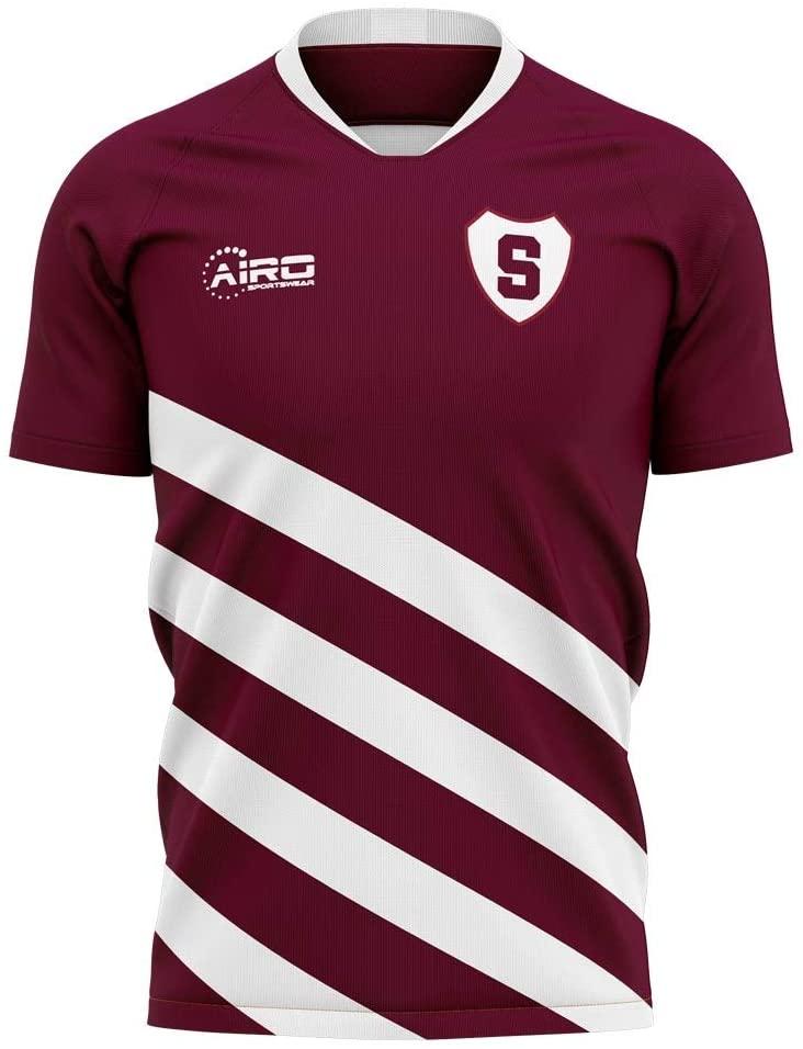 Airosportswear 2020-2021 Sparta Prague Home Concept Football Soccer T-Shirt Jersey - Kids