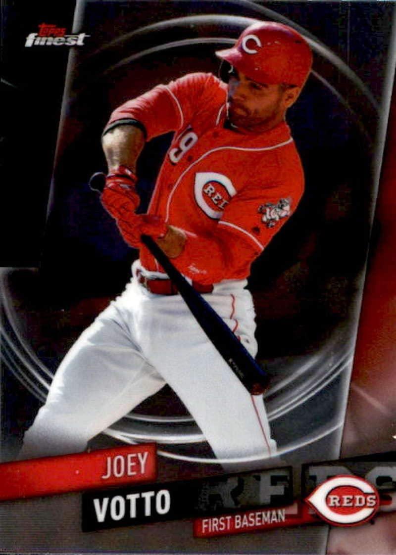 2019 Finest #26 Joey Votto Cincinnati Reds Baseball Card