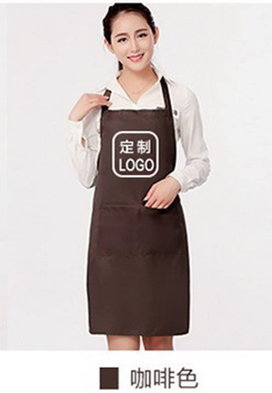 geranjie Korean fashion apron work waiter restaurant adult kitchen waterproof cute