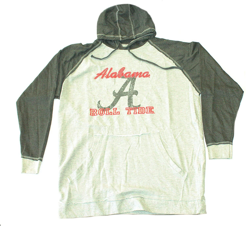 Majestic Athletic NCAA Licensed Alabama Crimson Tide Pullover Hooded Jacket (3X)