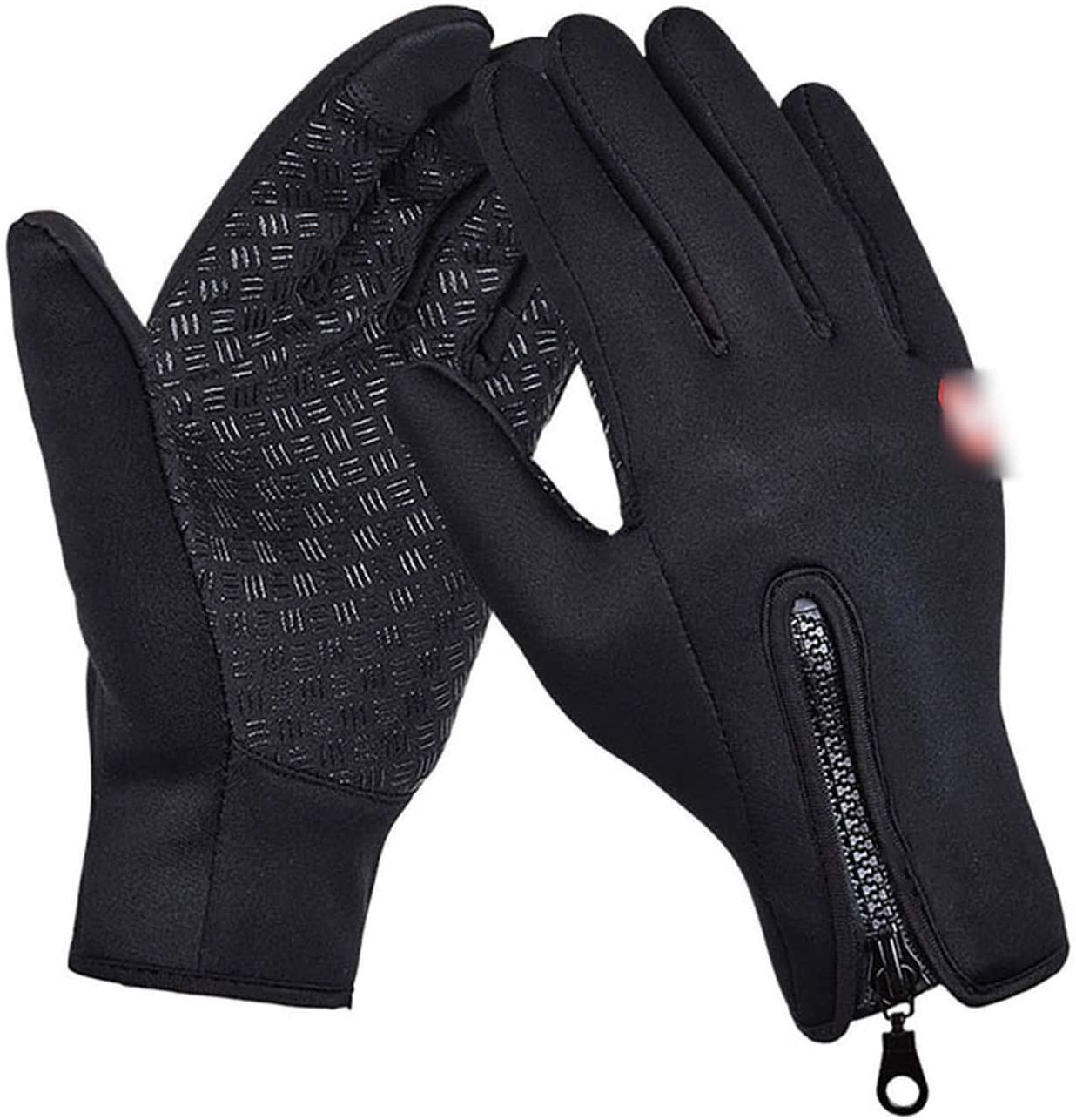 YR5V4V Winter Women Men Ski Snowboard Gloves Motorcycle Riding Waterproof Snow Windstopper Camping Leisure Skiing Gloves,YZ0228B,S,Ch