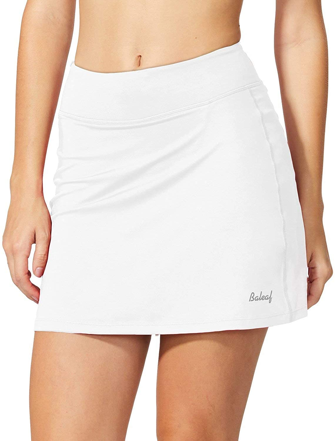 BALEAF Women's Active Athletic Skort Lightweight Skirt with Pockets Inner Shorts Perfect for Running Golf Tennis Casual Use