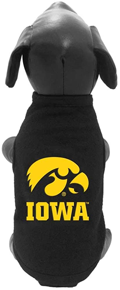 NCAA Iowa Hawkeyes Polar Fleece Dog Sweatshirt