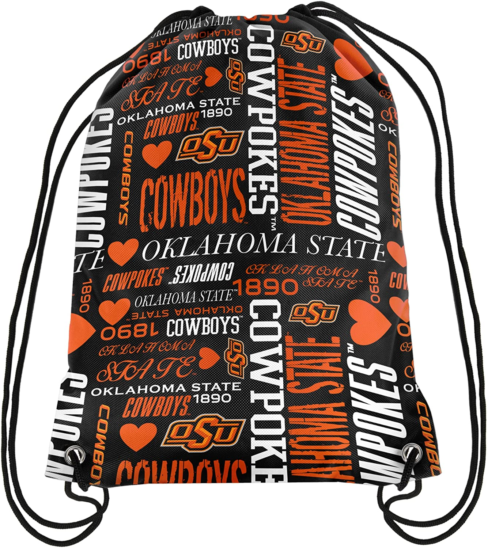 FOCO NCAA Wocollage Drawstring Backpack