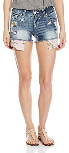 Realtree by Grace in LA Women's Pink Camo Shorts