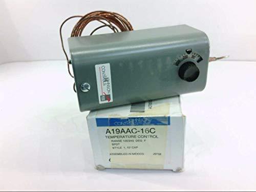 JOHNSON CONTROLS A19AAC-16C Temperature Control 1OO/240DEGREES F SPDT
