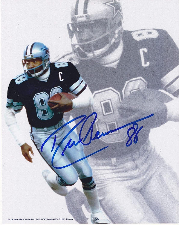 Drew Pearson Signed Photo - 8x10 - Autographed NFL Photos