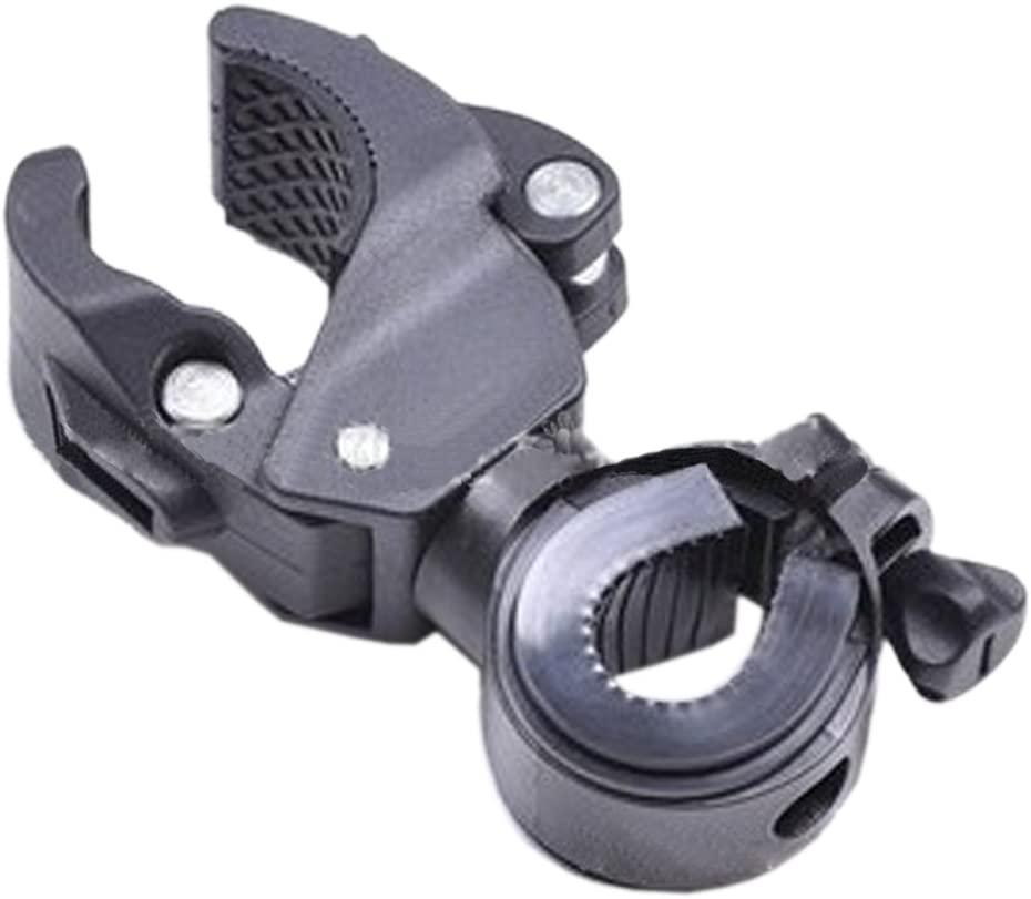 ieasycan 360°Bike Cycling Handlebar Mount Bracket Holder for XM-L T6 R5 Flashlight Torch