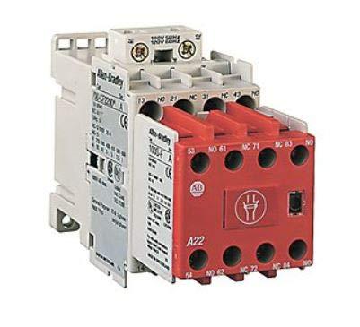 ALLEN BRADLEY 700S-CF530FC 50 HZ, Industrial IEC, 220-230 V AC, Safety Control Relay, Screw TERMINALS, MECHANICALLY Linked Contacts, 3 N.C, 5 N.O.