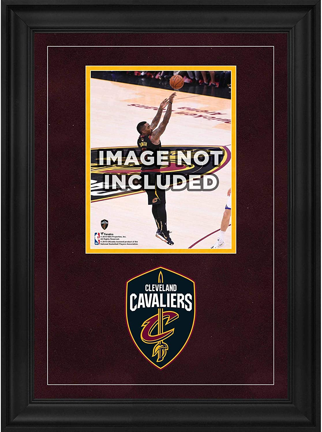 Fanatics Authentic NBA Cleveland Cavaliers Cleveland Cavaliers Deluxe 8