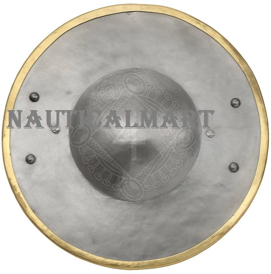 NAUTICALMART Medieval Combat Buckler Shield