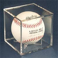 Pro-Mold Ball Cube III Baseball Holder w/ UV Protection (Lot of 5)