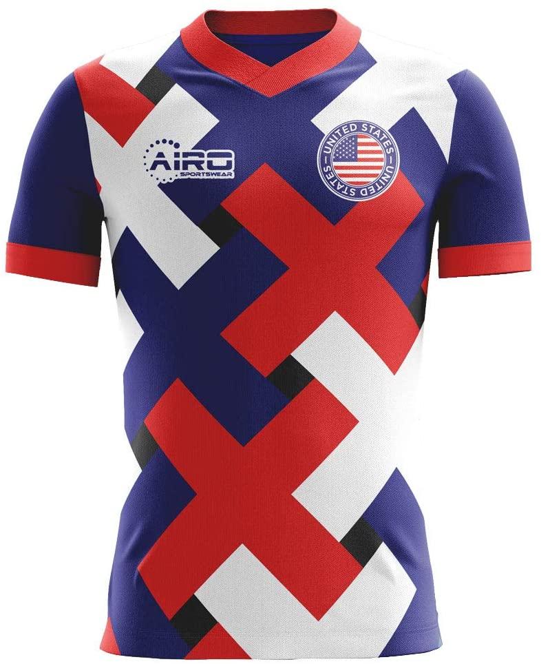 Airosportswear 2020-2021 USA Third Concept Football Soccer T-Shirt Jersey - Kids