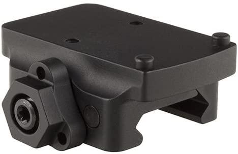 Trijicon AC32076 RMR Pistol Mount, Low Quick Release, Black