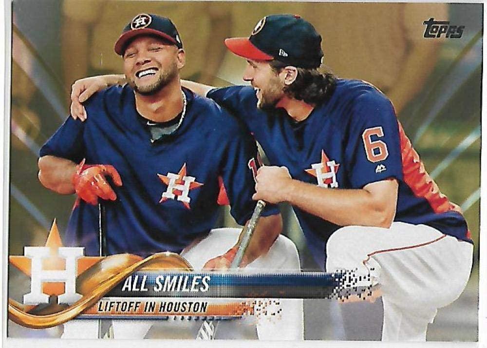 2018 Topps Gold #298 Houston Astros NM-MT 1289/2018