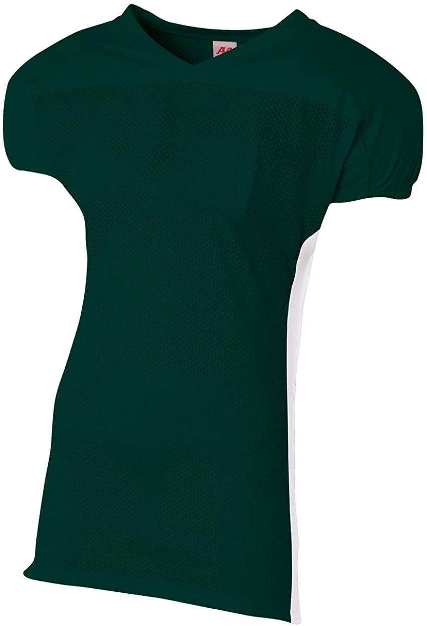 A4 Boy's Titan 4-Way Stretch Football Jersey