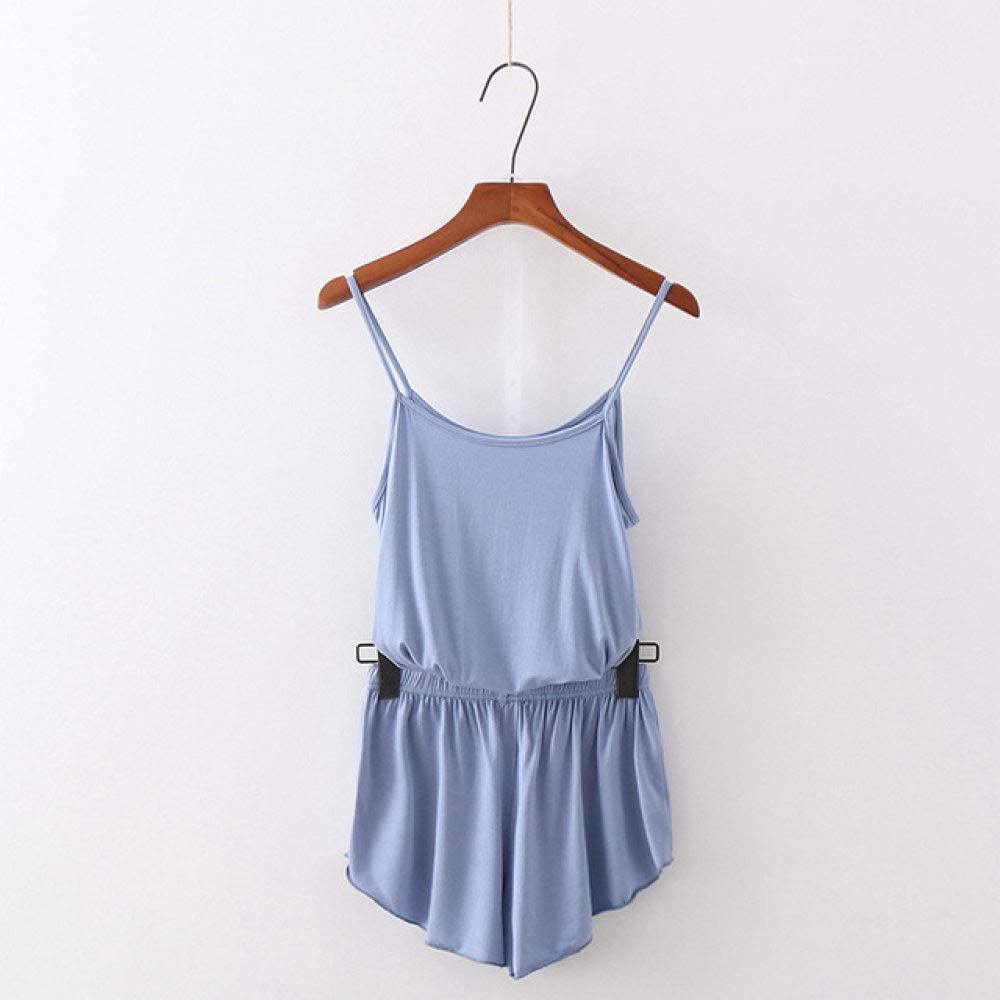 Aliluyaz Sleepwear Nightwear Camisole Shorts Suit Home Pajamas Set Ladies Two Piece Nightdress Nightgown