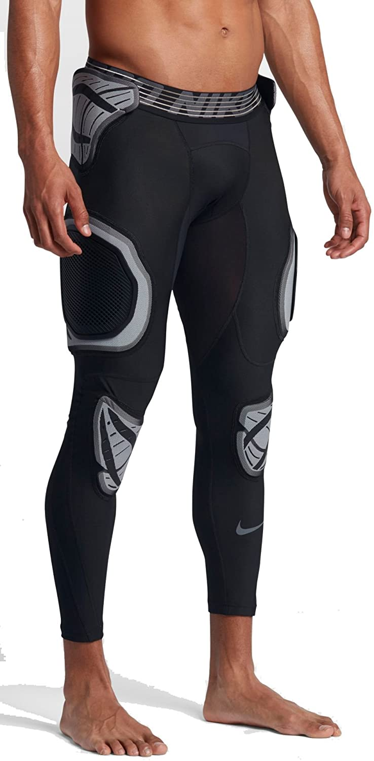Nike Men's Pro Hyperstrong Hardplate 3/4 Football Tights Pants