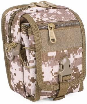 800D Molle Bike Bag, Fanny Bag, Military Army Molle Gadget Fanny Pack, Molle Waist Pack, Shoulder Bag (7