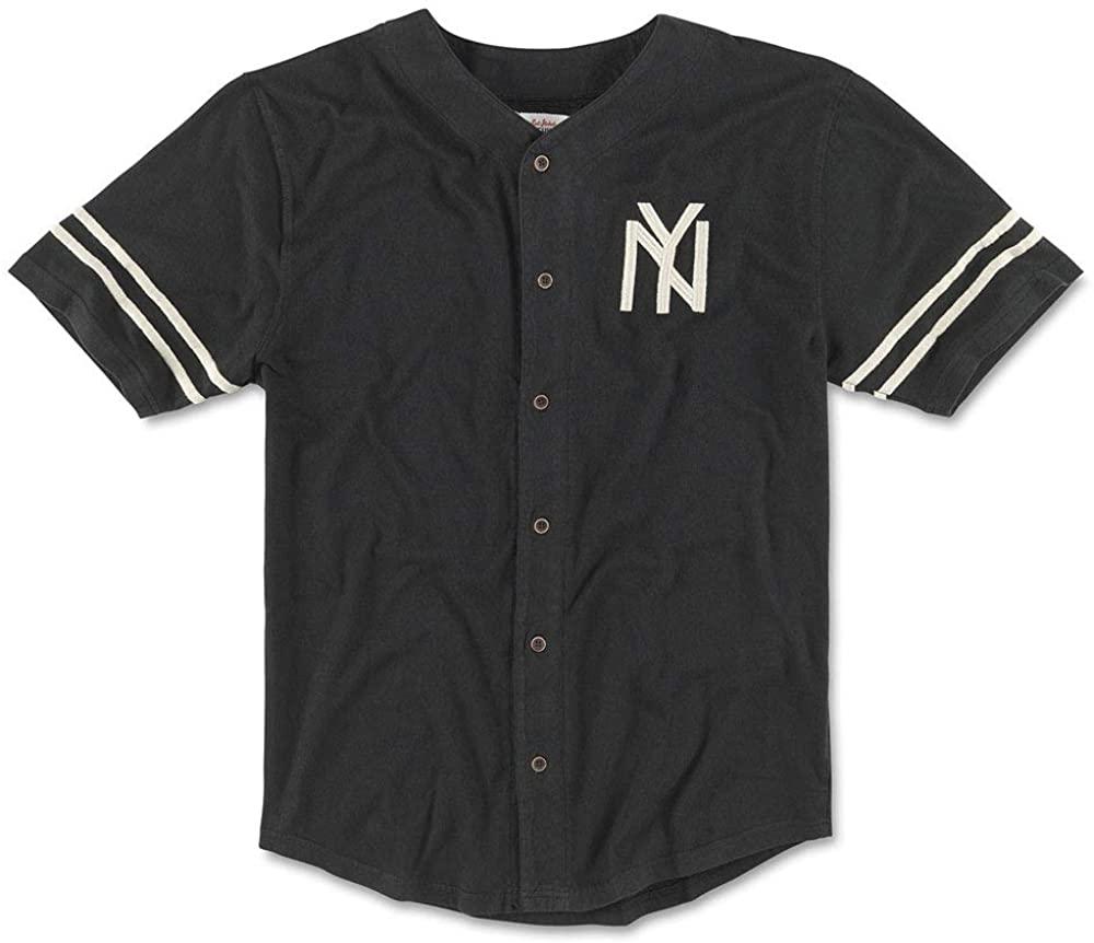 AMERICAN NEEDLE New York Black Yankees Archive Jersey
