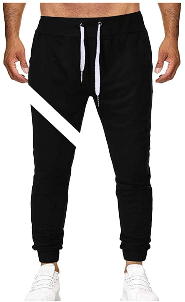FANSHONN Men's Sweatpant Lightweight Casual Drawstring Athletic Pants for Jogging, Workout, Gym, Running, Training