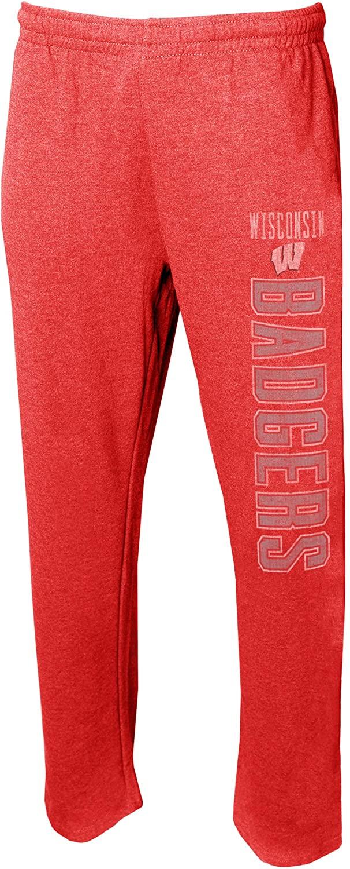 Concepts Sport Men's NCAA -Vintage Retro Squeeze Play- Sleepwear Pajama Pants-Heathered