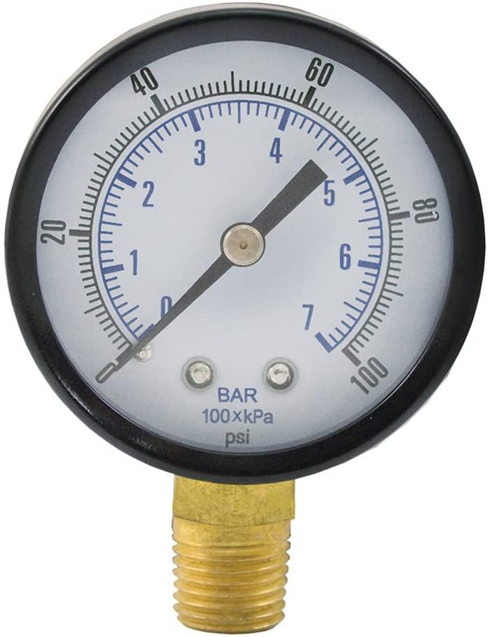 Jones Stephens Corp - 100 Psi 3-1/2 Pressure Gauge