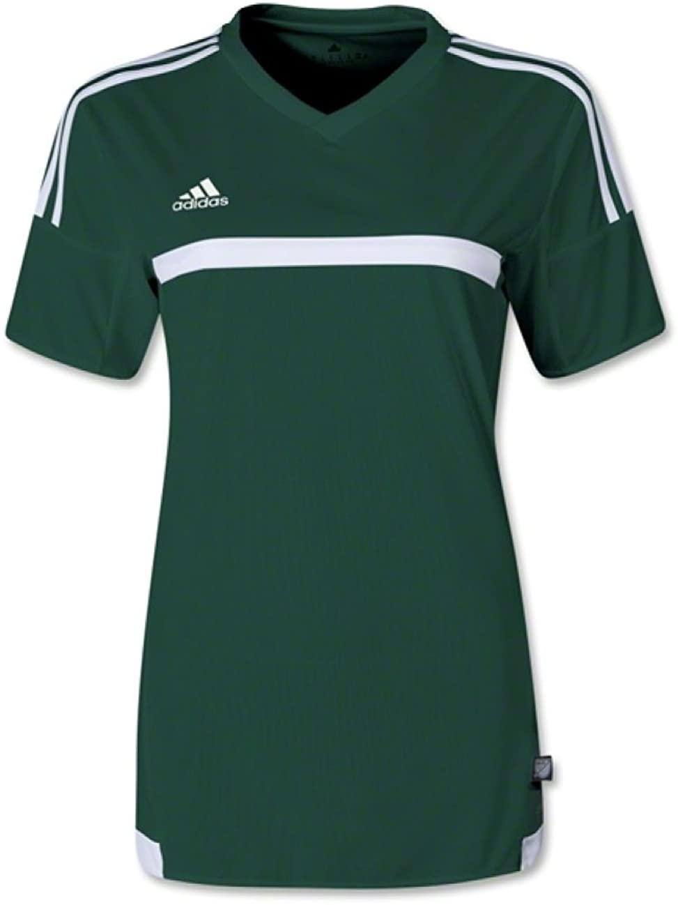 adidas Soccer Uniform Jersey: adidas Women's MLS 15 Match Replica Soccer Jersey Dark Green/White XS