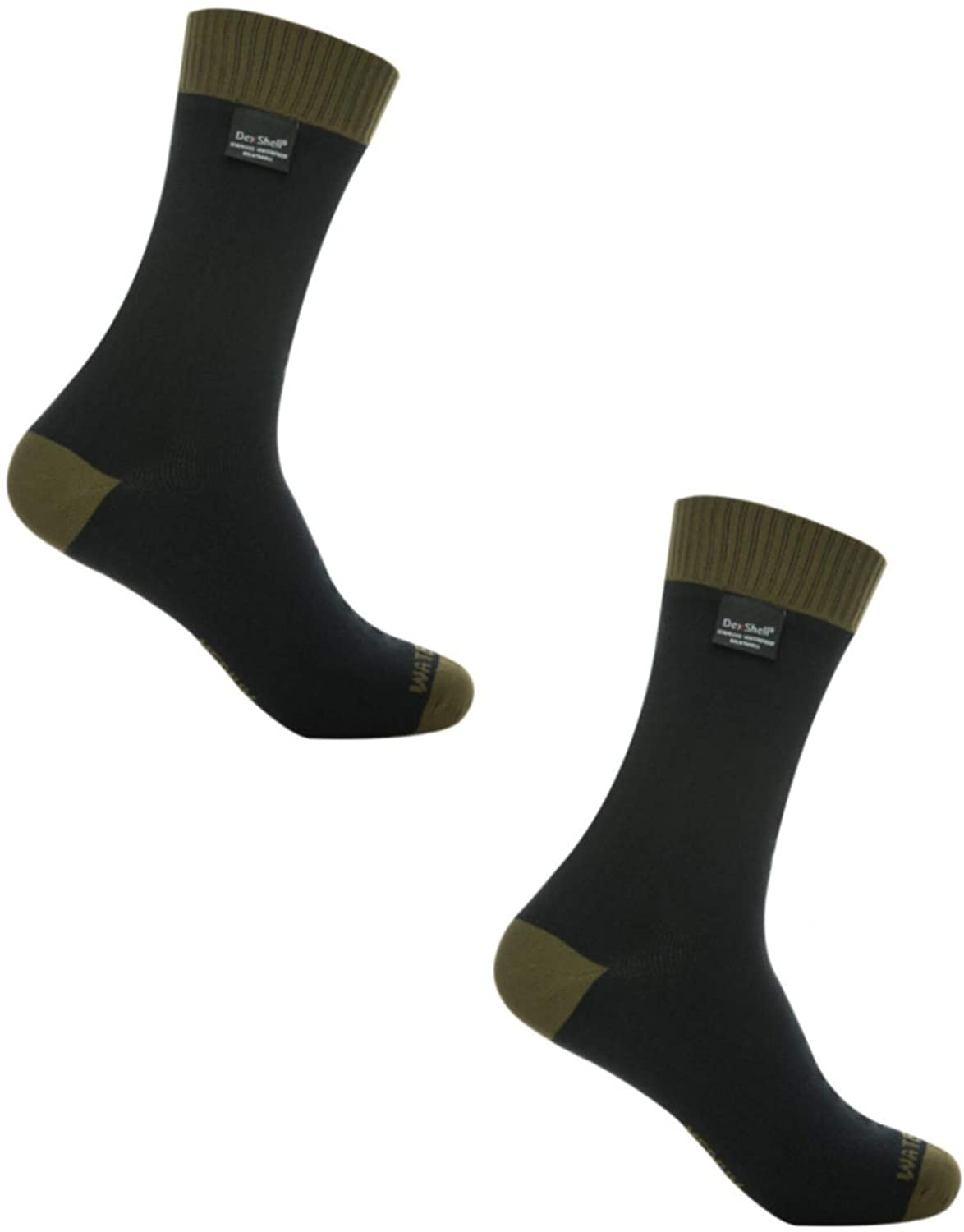 Dexshell Thermlite Sock - Olive - XL 2 Pack