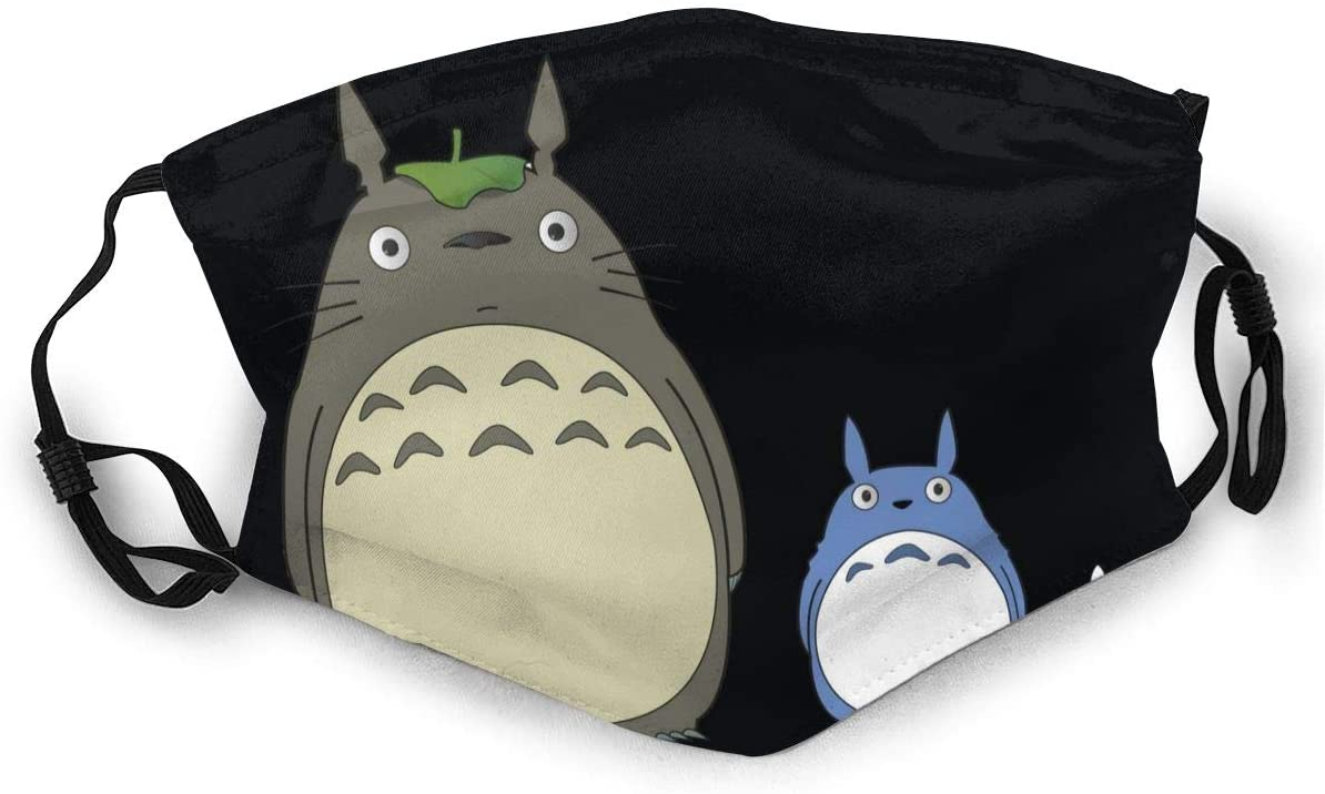 Wehoiweh Totoro Soft, Breathable, Adjustable Elasticity with Buckle, You Can Change Its Length According to Your Facial Contour