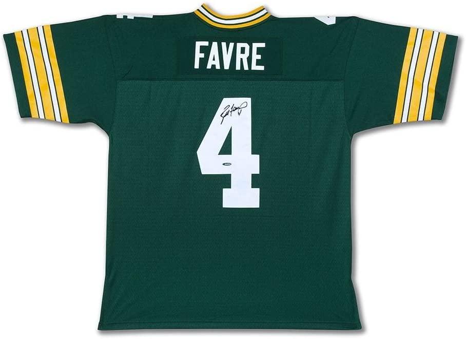 Signed Brett Favre Jersey - Mitchell & Ness 1996 Replica Retired Player - Upper Deck Certified - Autographed NFL Jerseys