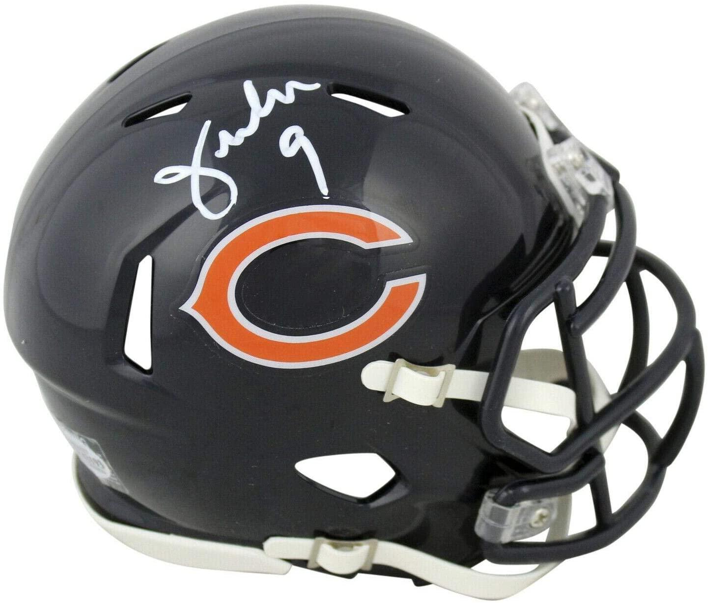 Jim McMahon Signed Mini Helmet - Speed BAS Witnessed - Beckett Authentication - Autographed NFL Mini Helmets
