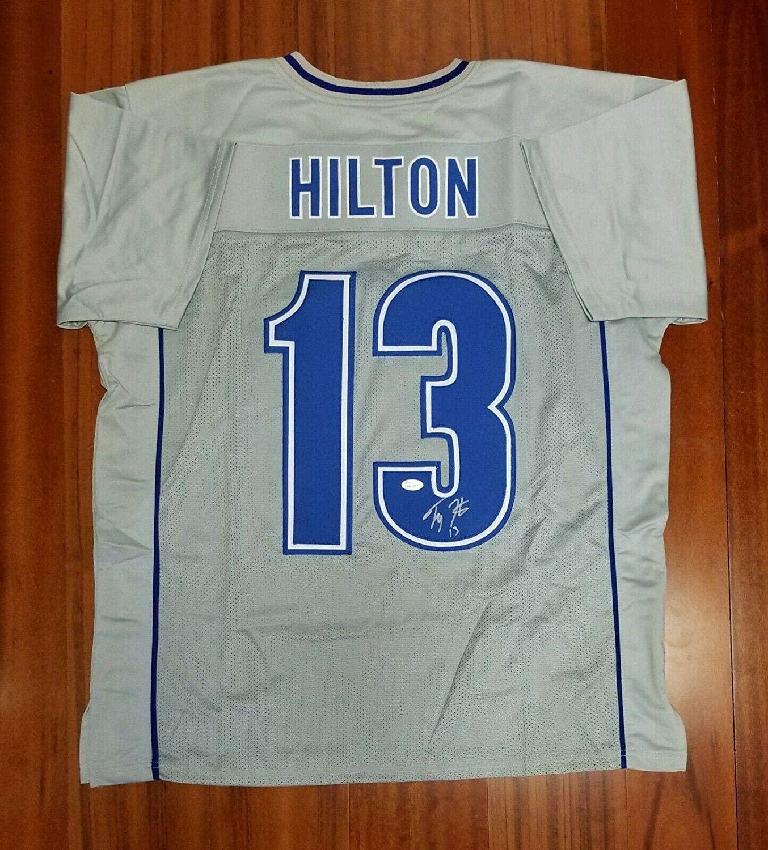 Autographed T.Y. Hilton Jersey - TY - JSA Certified - Autographed NFL Jerseys