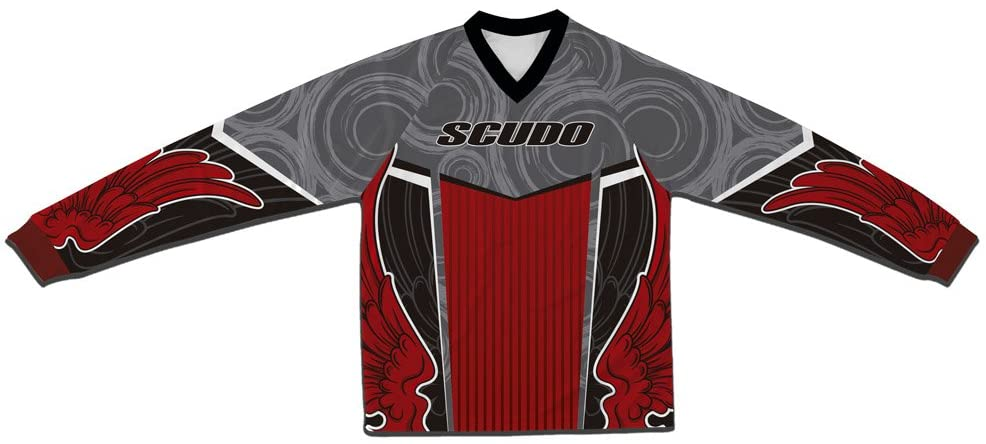 ScudoPro Red Wings BMX Downhill MTB Jersey