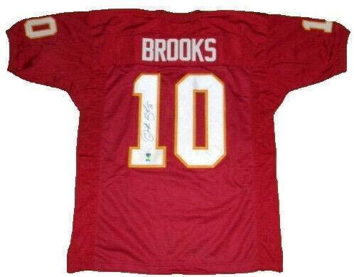 Autographed Derrick Brooks Jersey - #10 Gtsm - GTSM Certified - Autographed College Jerseys