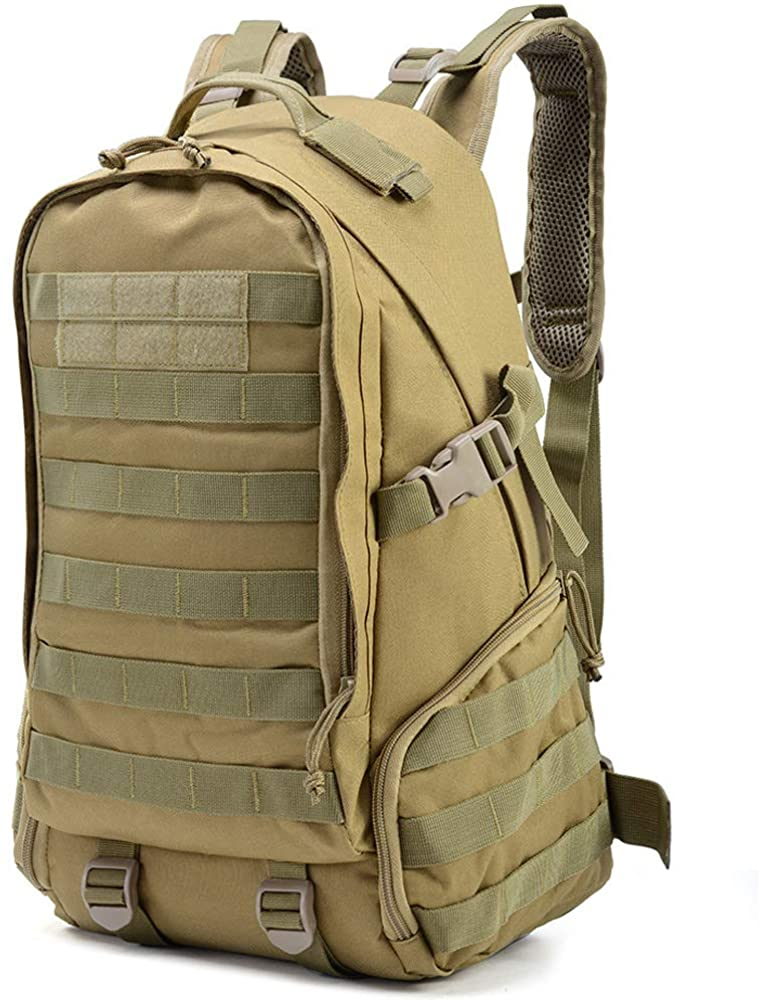 K-mover 27L Tactical Backpack Military Assault Pack Water Resistant Small Rucksack Army Backpack
