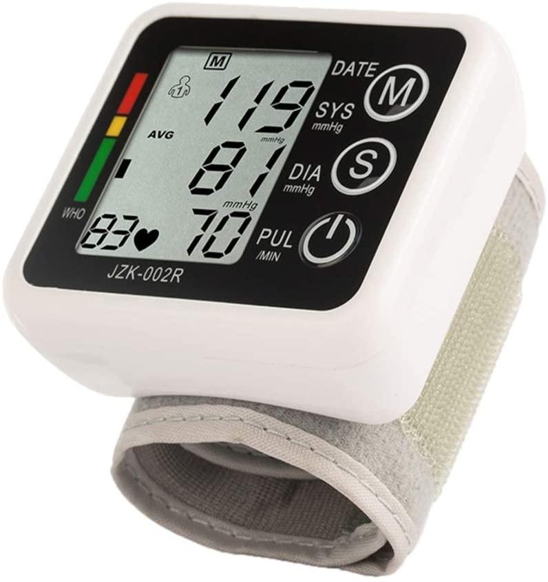 Binglinghua Automatic Wrist Blood Pressure Monitor BP Machine Gauge Measurement