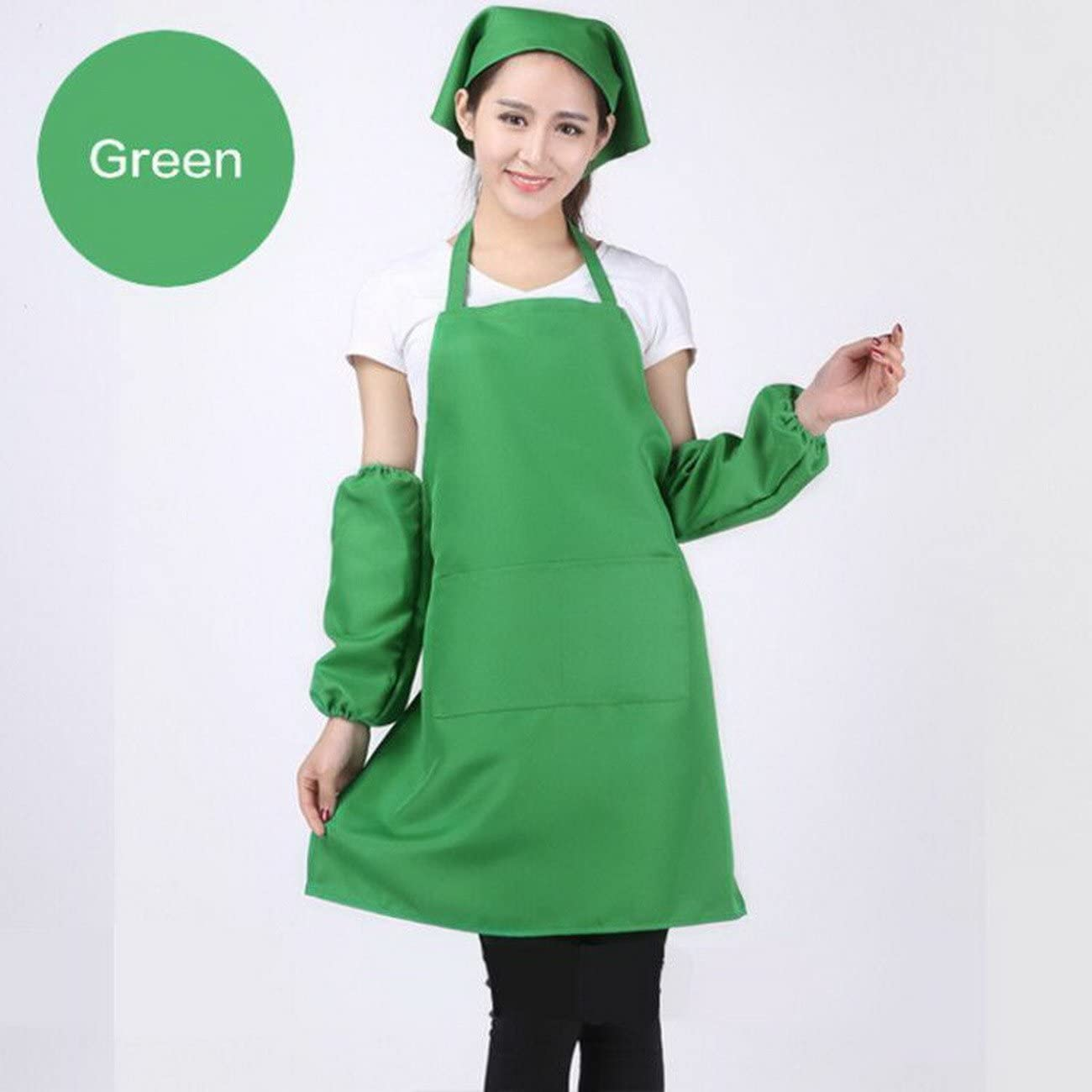 geranjie Fashion Unisex Aprons with Front Pocket Chefs Butchers Home Kitchen Restaurant Cookware Craft Baking Cooking Print Logo Image