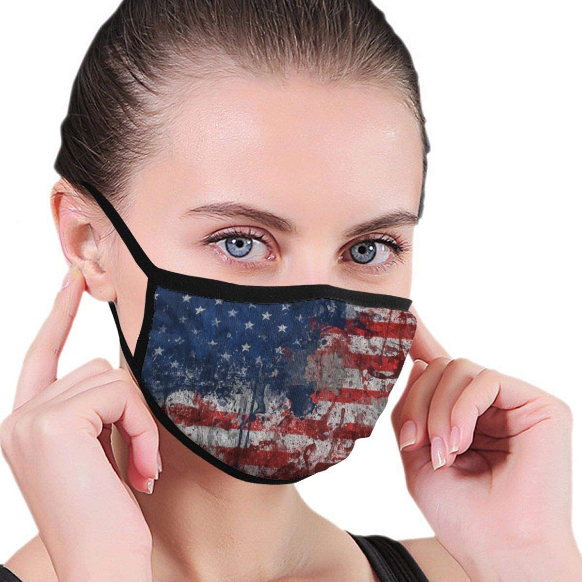 Wehoiweh Flag Dust Prevention Face Cover Mouth Cover Bandana Cool Lightweight