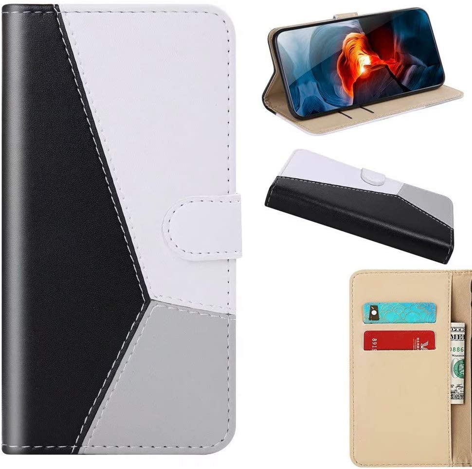 Luckyandery Wallet Style Mi A3 Case,Mi A3 flip case, Leather Wallet Case,Flip Case Cover with Stand Function & Credit Card Slots for Mi A3