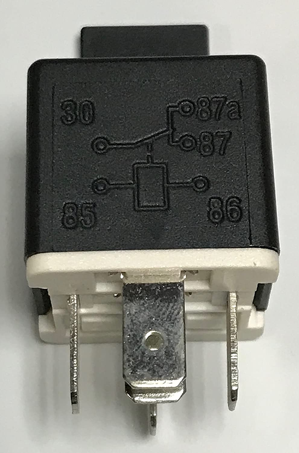 Relay 5 Pin 12V Coil 30/40 amp Spdt 14VDC, Contactor Switch Power, Auto Switches & Starters, 2 Pack