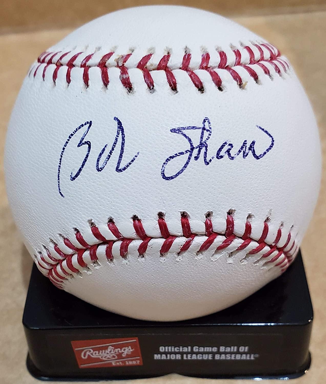 Autographed BOB SHAW Official Major League Baseball - NFL Autographed Miscellaneous Items