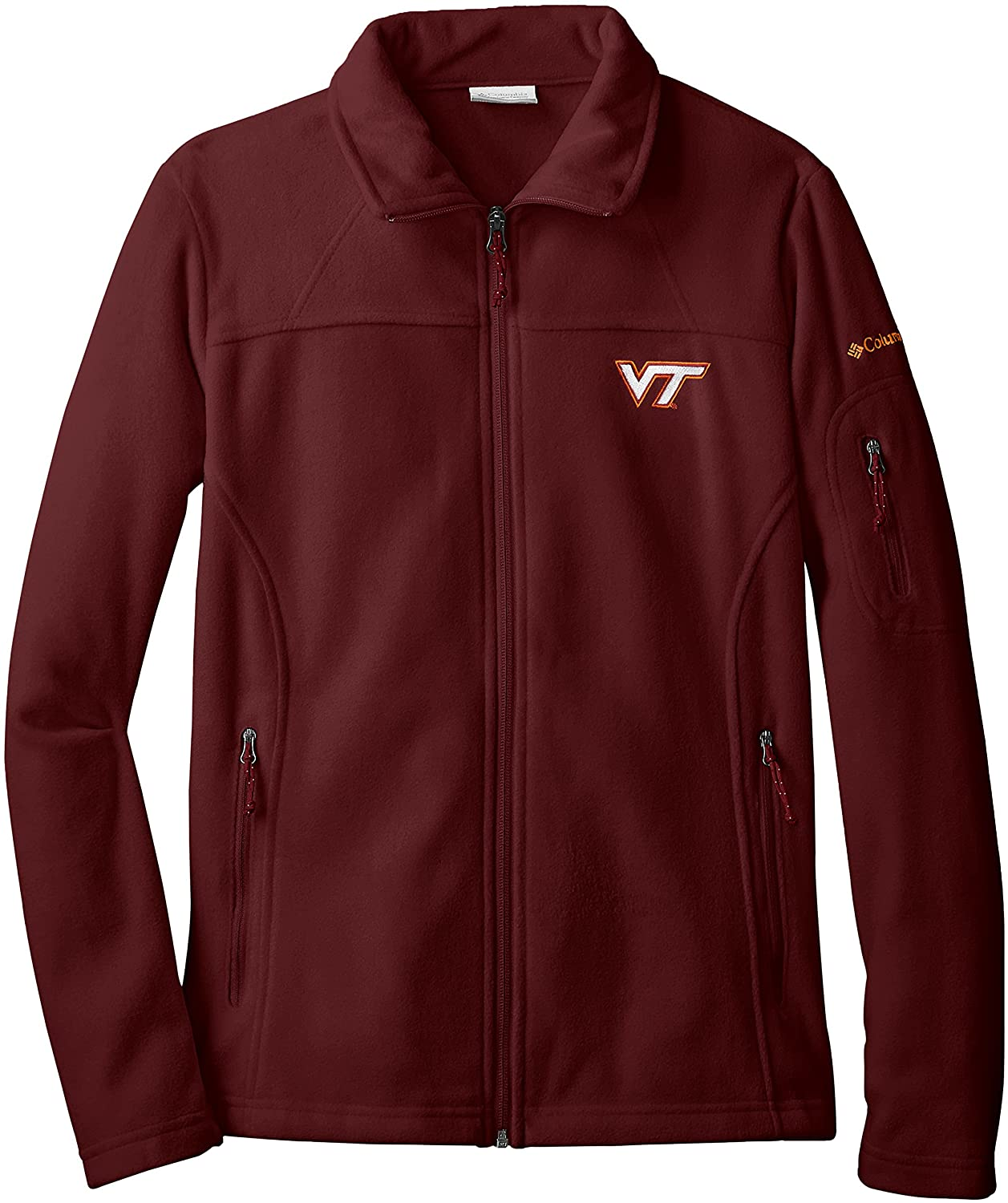 NCAA Virginia Tech Hokies Give and Go Full Zip Fleece Jacket