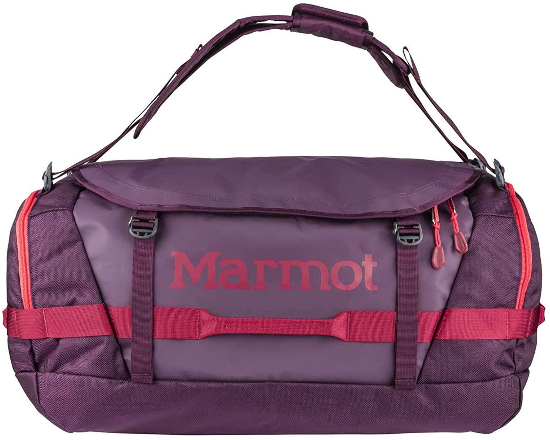 Marmot Long Hauler Travel Duffel Bag, Dark Purple/Brick, Large